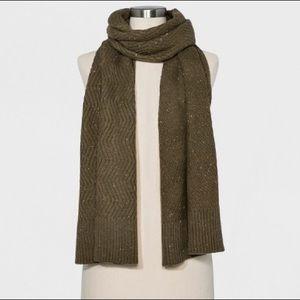 NEW Target Wool Knit Scarf Universal Thread Green
